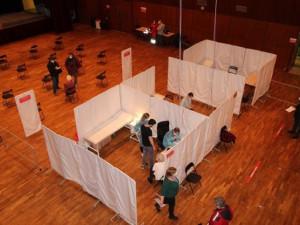 Očkovací centrum v České Lípě se přesune do areálu nemocnice. Doposud bylo v kulturním domě