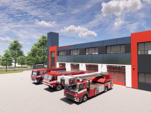 Hasiči z Jilemnice se dočkají nové stanice za 50 milionů. Vyroste v Hrabačově