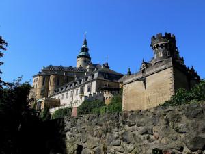 Na frýdlantském zámku se natáčí pohádka Jak si nevzít princeznu. Návštěvníkům je uzavřen