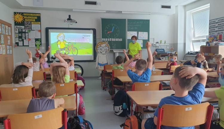 Markétina dopravní výchova se vrátila na základní školy v Libereckém kraji