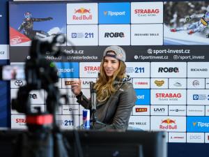 Sportovcům v Libereckém kraji vládnou ženy. Anketu vyhrála Ledecká před Davidovou a Samkovou
