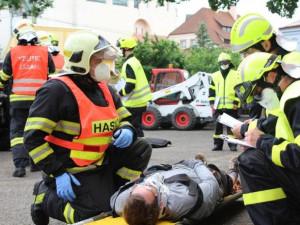 Dobrovolní hasiči z Frýdlantu vyhráli soutěž ve vyprošťování, pojedou na MČR