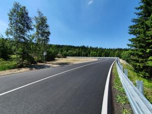 Silnice přes Ještěd otevřena. Rekonstrukce první části skončila o dva týdny dříve