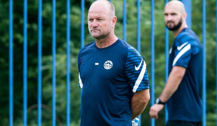 Věřím, že tým postavíme dobrý, říká na startu přípravy Slovanu trenér Hoftych. S Gebrem je klub v kontaktu