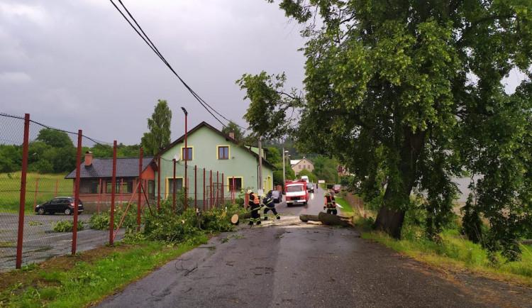 A znovu silné bouřky. Do Libereckého kraje mají dorazit v úterý v noci