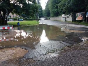 Liberec sčítá škody po lijácích. Už vyšplhaly na 70 milionů korun