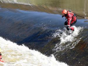 Hasiči zachraňují vodáky. Nejvíce nás překvapí ti, kteří o řece vůbec nic nevědí