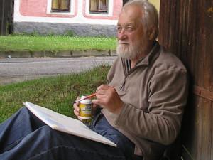 V 89 letech zemřel akademický malíř Vladimír Veselý