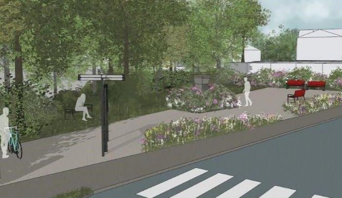 Nové lavičky i stojany na kola. Park v Jabloneckých Pasekách se dočká obnovy