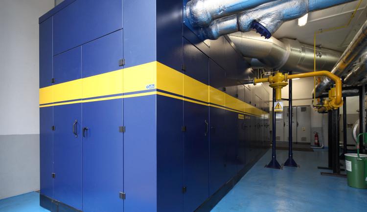 Pět kogeneračních jednotek zajistí dodávky tepla v Jablonci a stabilizuje ceny