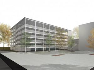 Stavba parkovacího domu se prodraží přibližně o 50 milionů korun