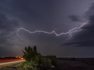 Výstraha pro Liberecký kraj. V sobotu večer hrozí silné bouřky