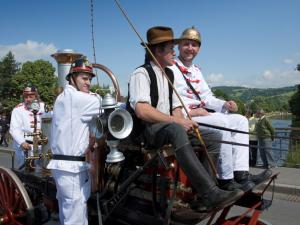 Semilští hasiči slaví sto padesát let. Do města se sjedou historické parní stříkačky