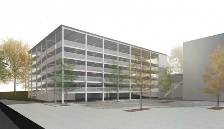 Parkovací dům vedle svého sídla Liberecký kraj postaví, i když bude výrazně dražší