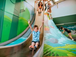 Aktivní zábava pro děti. V libereckém Babylonu otevřeli nový Funpark