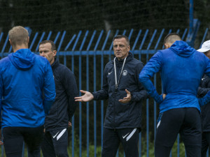Nový trenér Kozel se ujal Slovanu. Změny přijdou, všimnete si jich, řekl