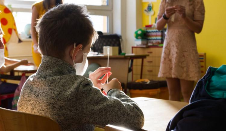 Testování ve školách odhalilo minulý týden v Libereckém kraji čtyři nakažené