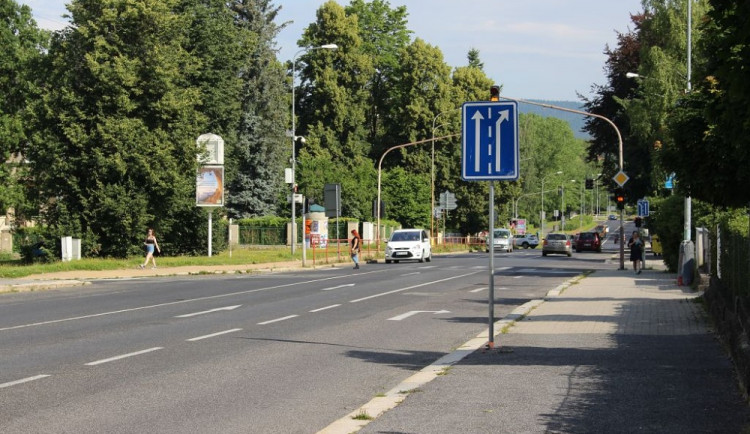 Jablonec chce v Palackého ulici vybudovat cyklopruhy, bude žádat o dotaci