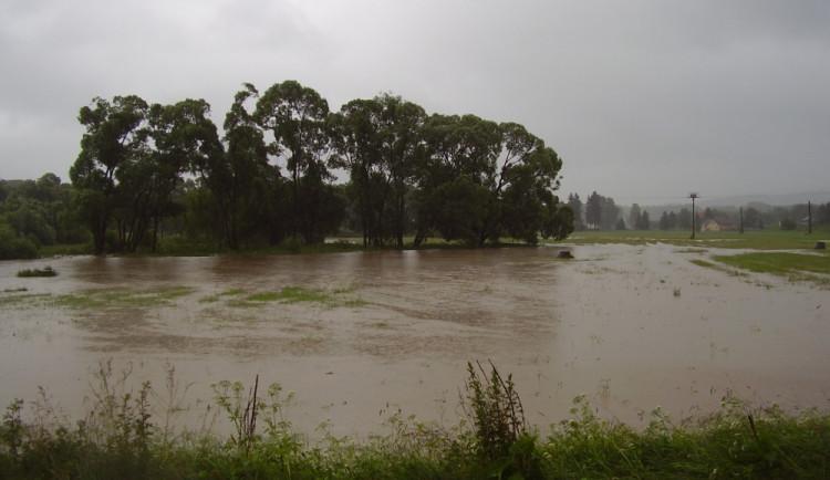 Velká voda, červen 2013
