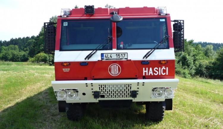 Profesionální hasiči mají novou techniku