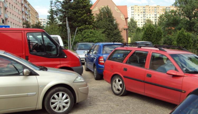 Parkování v Ruprechticích