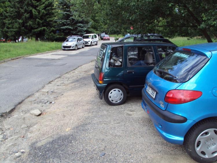 Parkování v Rychtářské