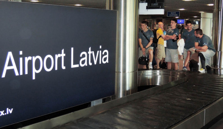Slovan už je v Rize