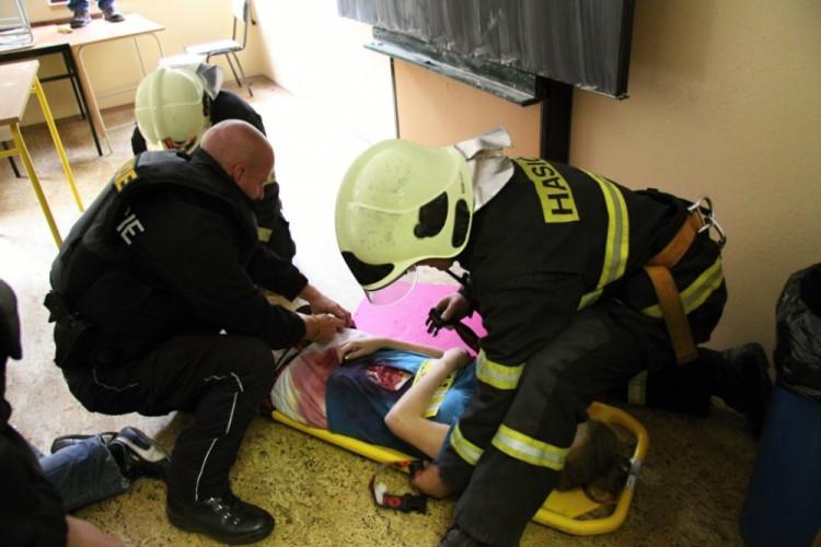 První pomoc pro zraněného