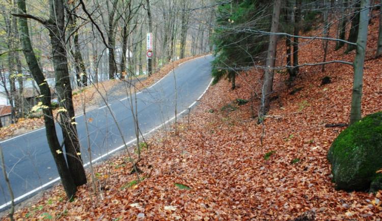 Nová silnice z lomu