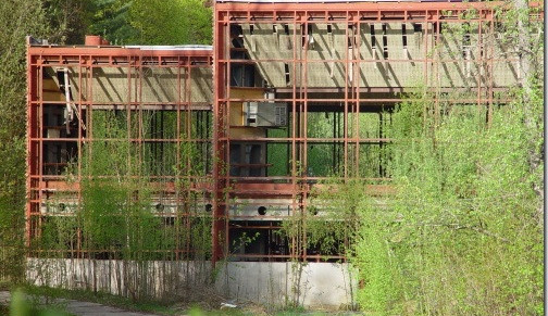 Pavilon A stál pouhých třicet let