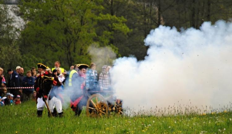Rekonstrukce bitvy u Liberce z roku 1757