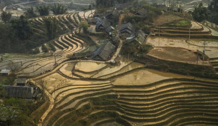 Sa Pa v severním Vietnamu
