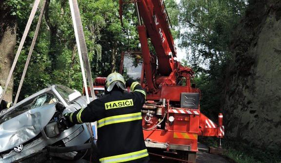 Nehody na rozlité naftě