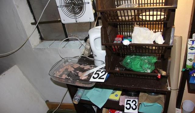 Policie rozkryla další gang výrobců a distributorů pervitinu