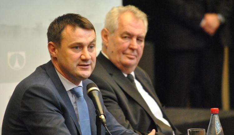 První den prezidentské návštěvy v Libereckém kraji