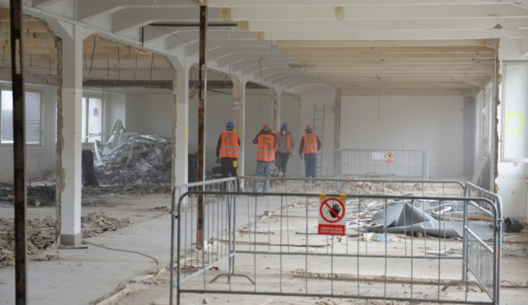 Rekonstrukce bývalé budovy VÚTS