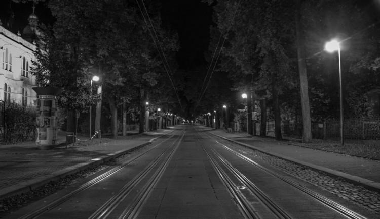 Noční Liberec pohledem Martina Škrabálka