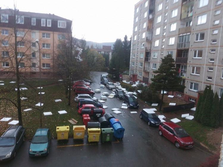 Silný vítr komplikuje život na Liberecku