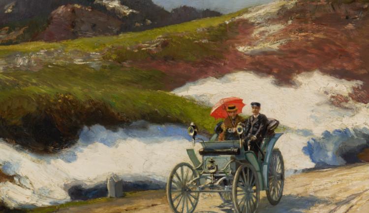Liebiegovo první auto se vrátilo do Liberce