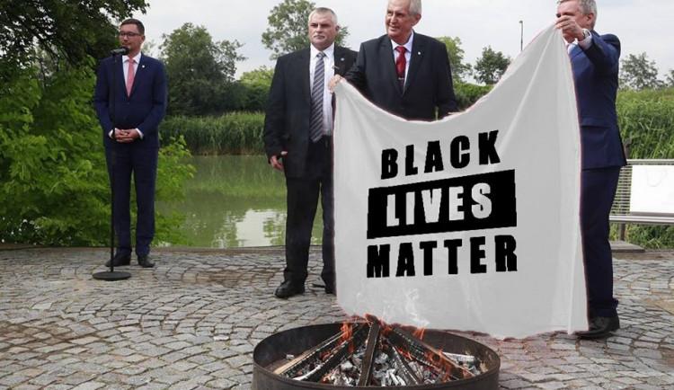 Miloš Zeman a koláže