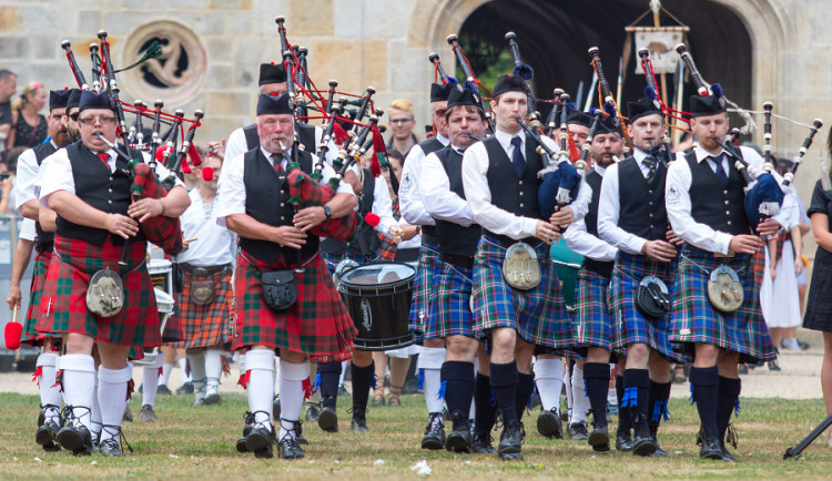 Skotské hry na Sychrově 2018