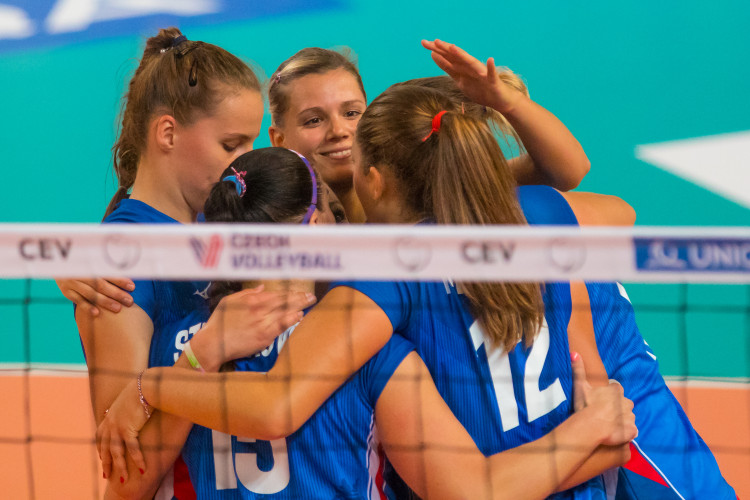 Volejbal Česky vs. Estonky