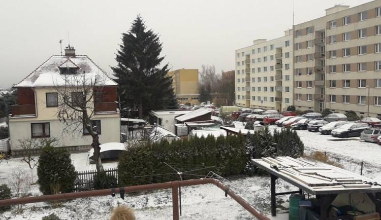 První prosinec přikryl sněhovou dečkou celý kraj
