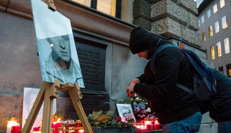Uctění památky Jana Palacha