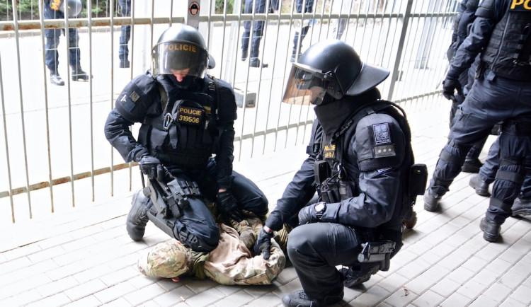 Cvičení pořádkové jednotky