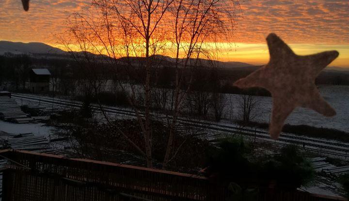Západ slunce nejen nad Libercem