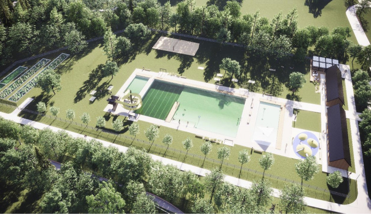 Nové koupaliště v Jilemnici