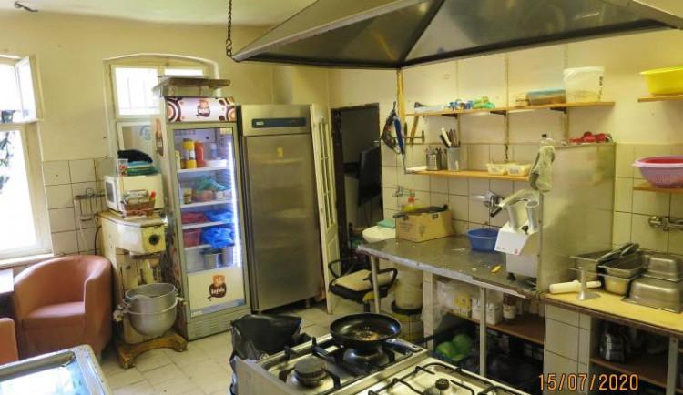 Zavřený City Kebab v Jablonci nad Nisou